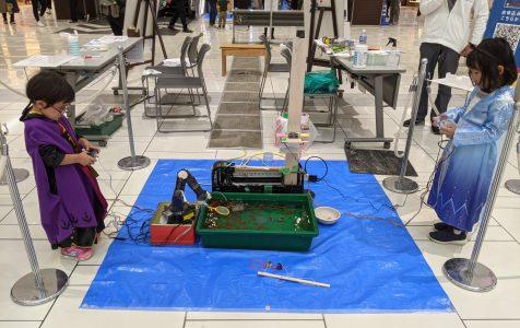 【大盛況御礼!】 金魚フェス in イオンモール大和郡山にて、ロボット金魚すくいを共同出展しました。